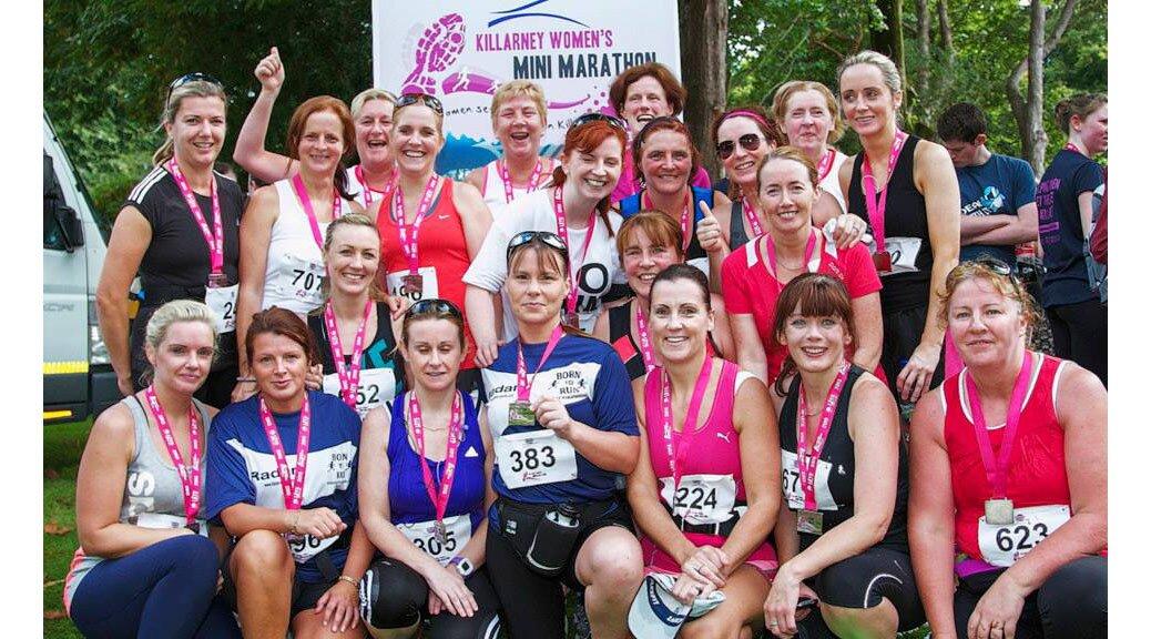 Killarney Women's Mini Marathon finishers