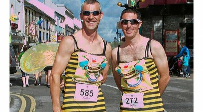 Be a bee at the Killarney's Women's Mini Marathon
