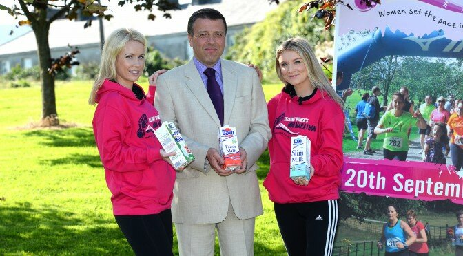 Dawn Milk sets the pace for 1,000 ladies at the Dawn Milk Killarney Women's Mini Marathon
